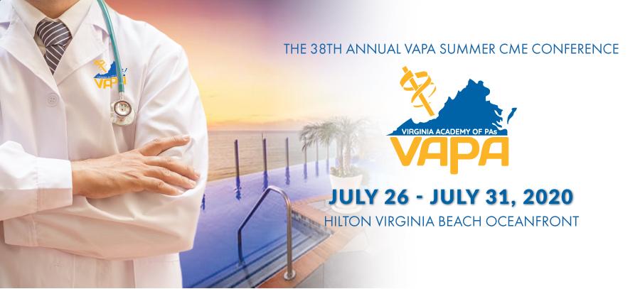 VAPA 2020 Summer CME Conference