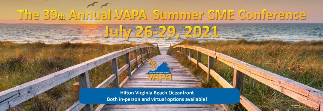 VAPA 2021 Summer Conference