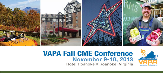 VAPA 2013 Fall CME Conference
