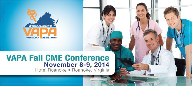 VAPA 2014 Fall Conference