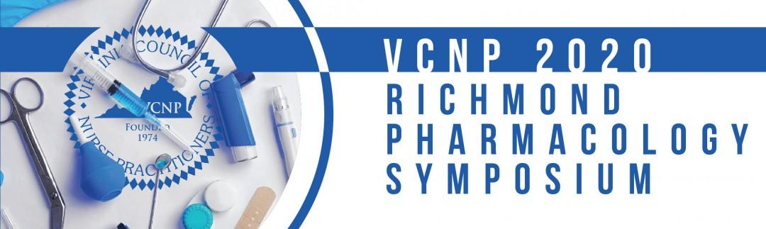 2020 Richmond Pharmacology Symposium,                         September 26 - September 26, 2020,