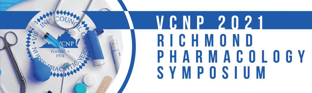 2021 Richmond Pharmacology Symposium,                         September 18 - September 18, 2021,                         Virginia Crossings Hotel & Conference Center,                          Glen Allen                         Virginia