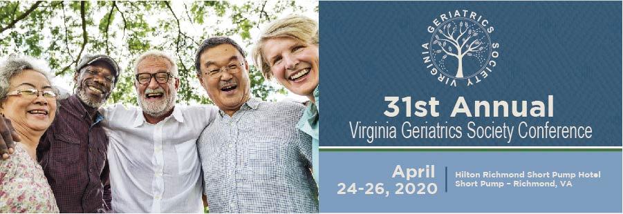 2020 VGS Annual Conference,                         April 24 - April 26, 2020,                         Hilton Richmond Hotel, Short Pump,                          Richmond                         Virginia